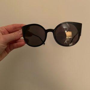 Anthropologie black sunglasses